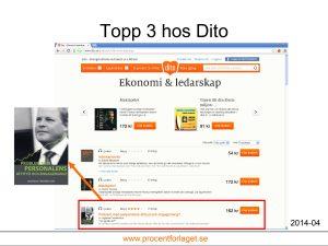 """""""Problem med personalens attityd och engagemang?"""" av Ingemar Fredriksson på topp 3 hos Dito."""