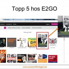 Topp 5 hos E2GO i juli