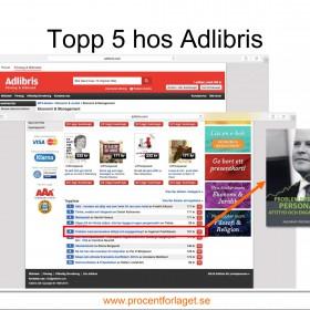 Topp 5 hos Adlibris