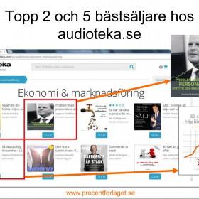 Topp 2 och 5 hos Audioteka i februari