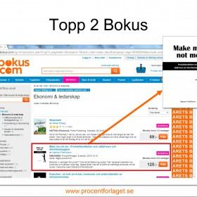Topp 2 hos Bokus i mars!