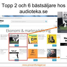 Topp 2 och 6 hos Audioteka 20161027